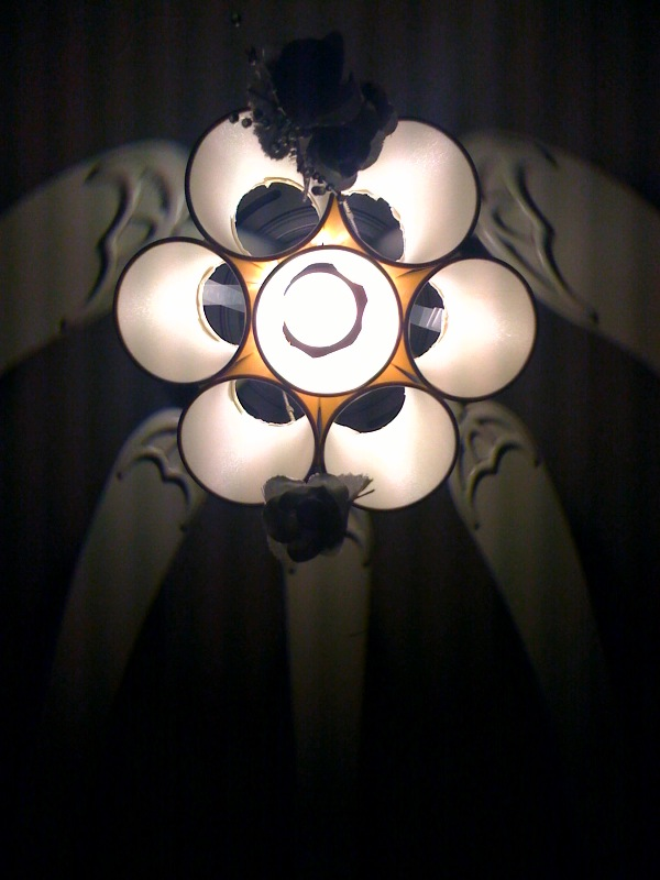 Coffee Cup Chandelier