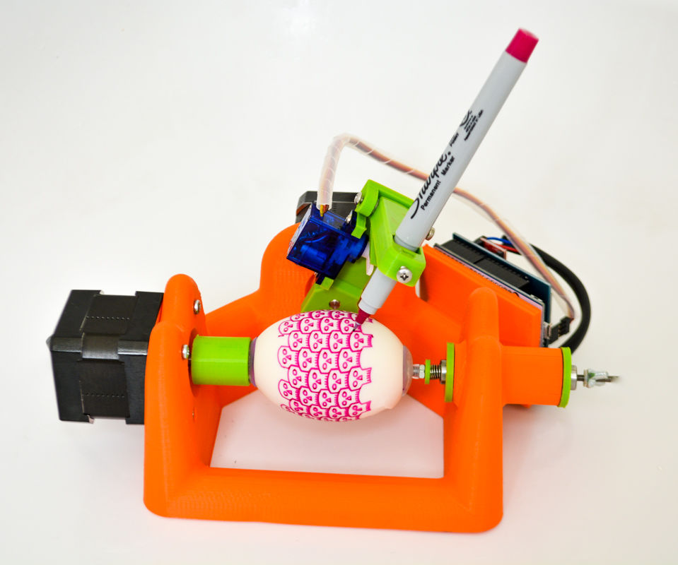 Sphere-o-bot: a Friendly Art Robot