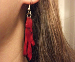 Blood Earrings