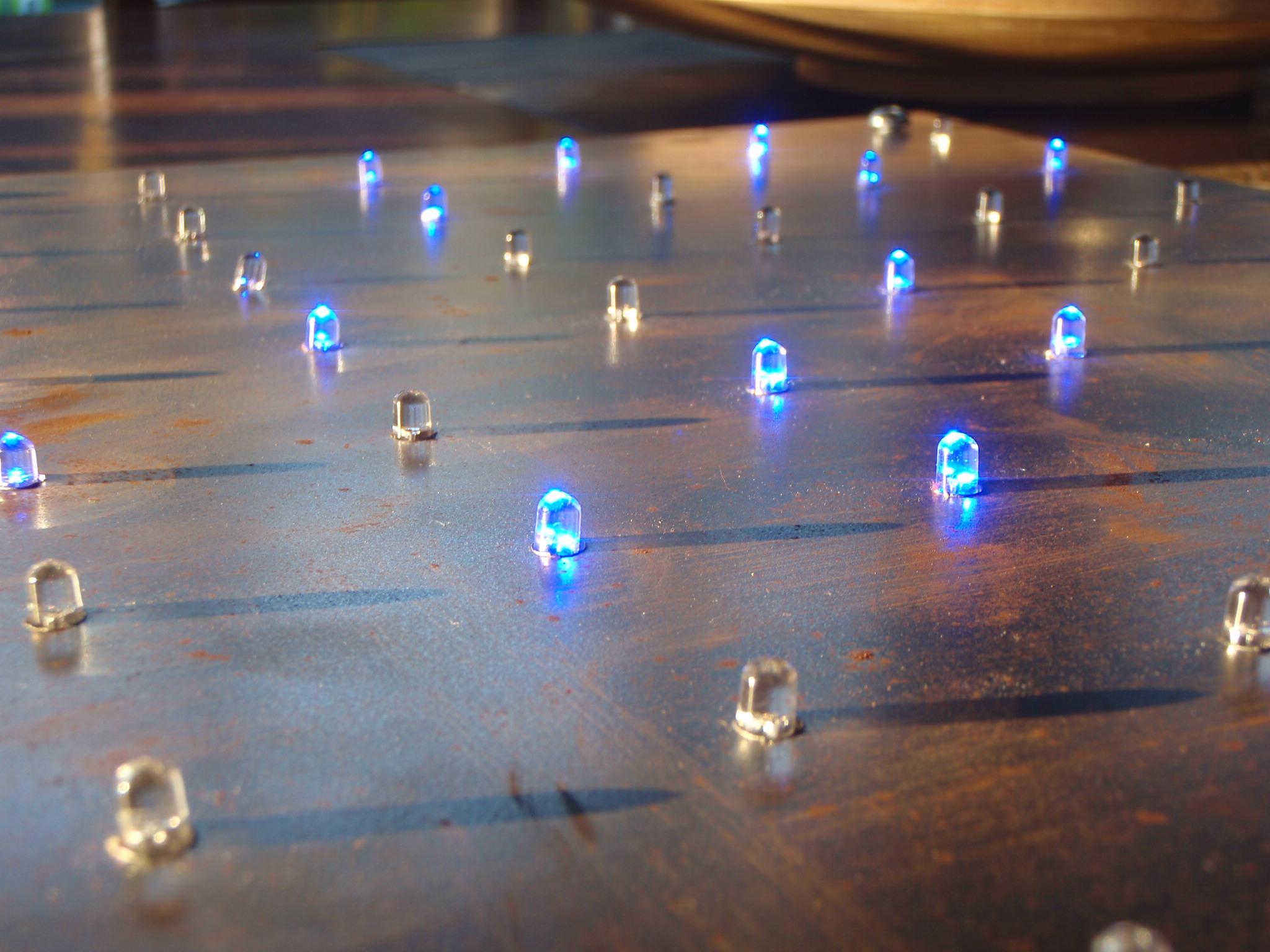 Blinking LED Mood lighting