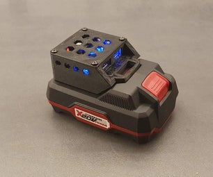 Parkside X20V电池PowerBank USB充电器