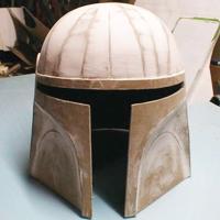 Cardboard Costume Helmet