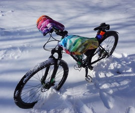 Pogies: Homemade Bike Mitts for Winter Cycling