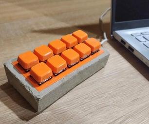 Concrete Stream Deck/Macro Keyboard