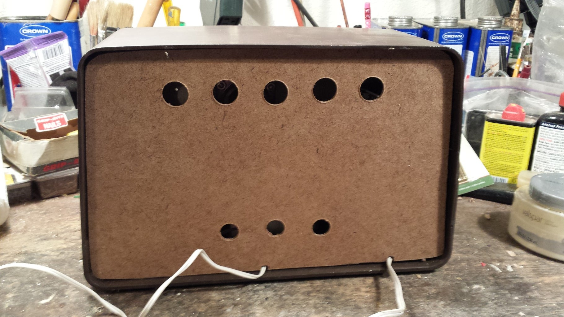 Make and Mount the Back Panel