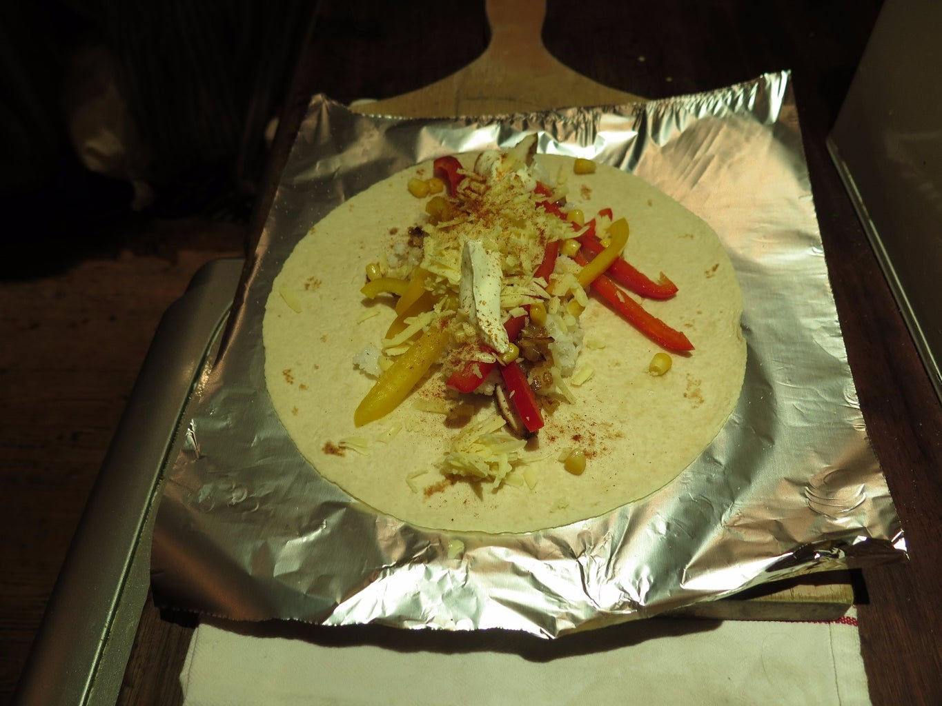 Wrapping the Burrito.