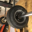 Golf Cart Tire Bumper Plates