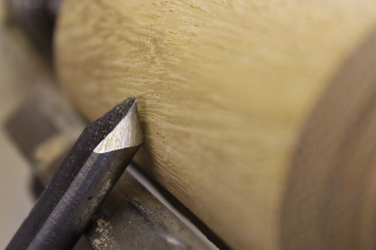 Spindle Gouge- Sometimes Known As a Shallow Fluted Gouge.