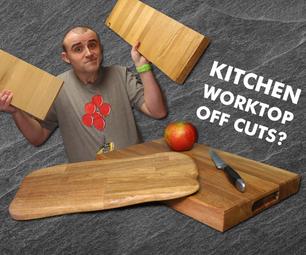 Turn Worktop Off Cuts Into Cutting Boards!