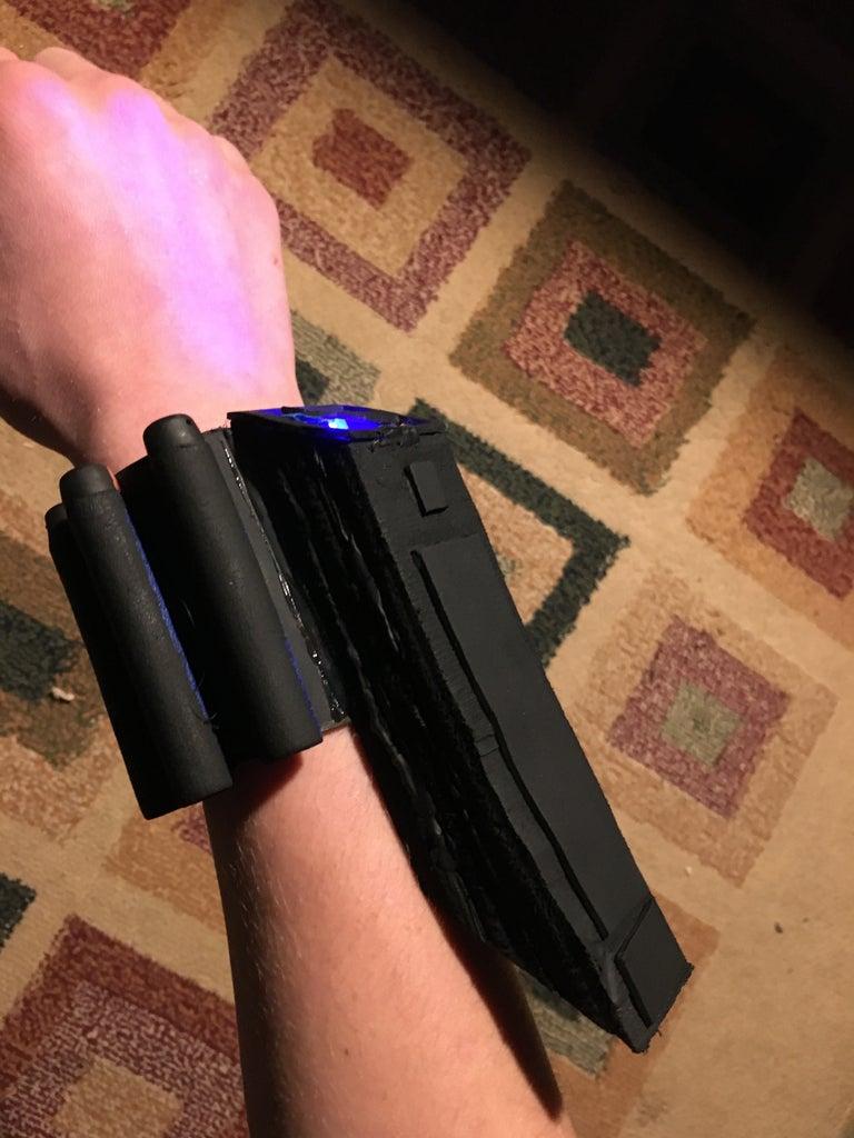 Black Widow's Glowing Bracelets