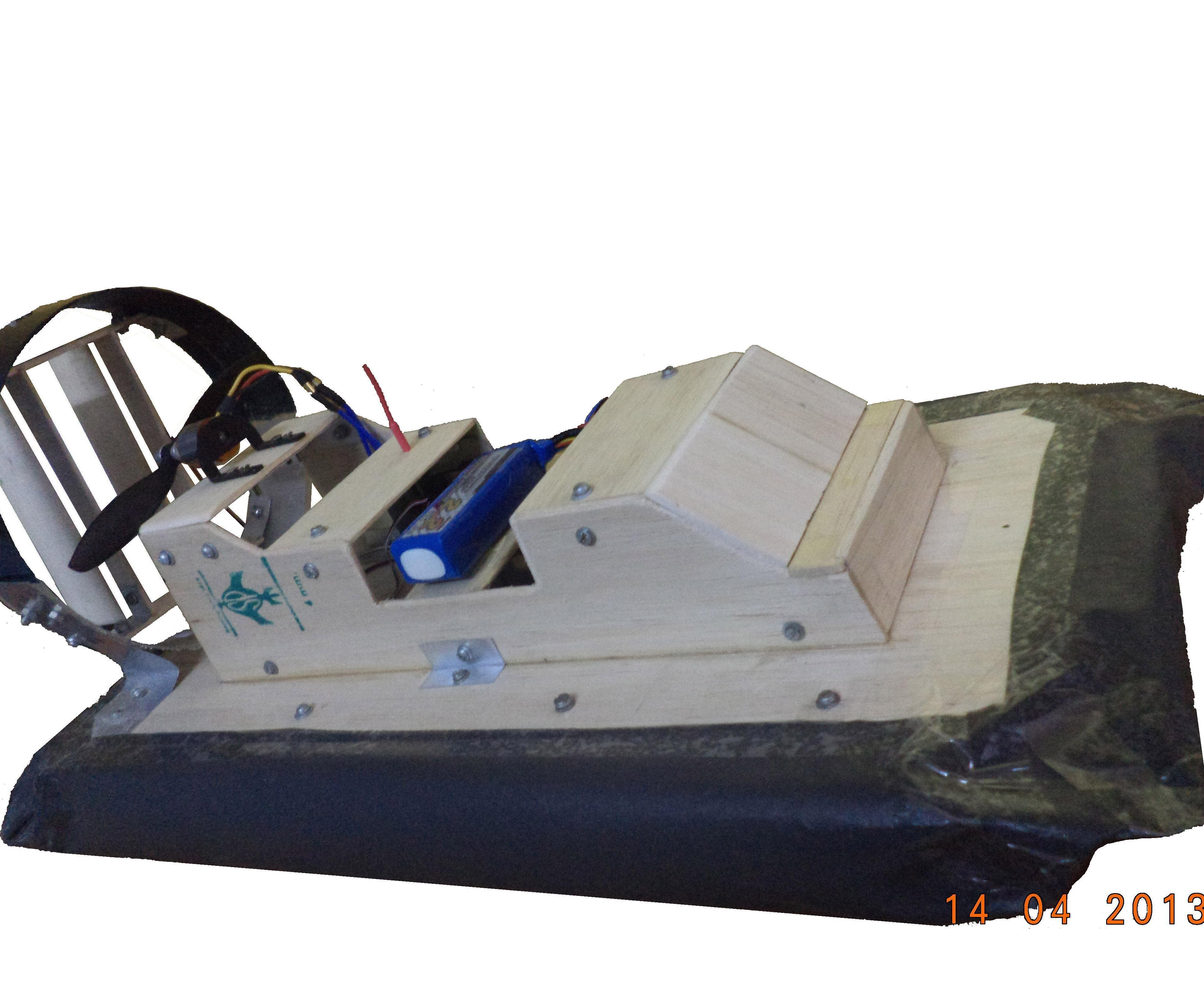 Powerful RC Hovercraft