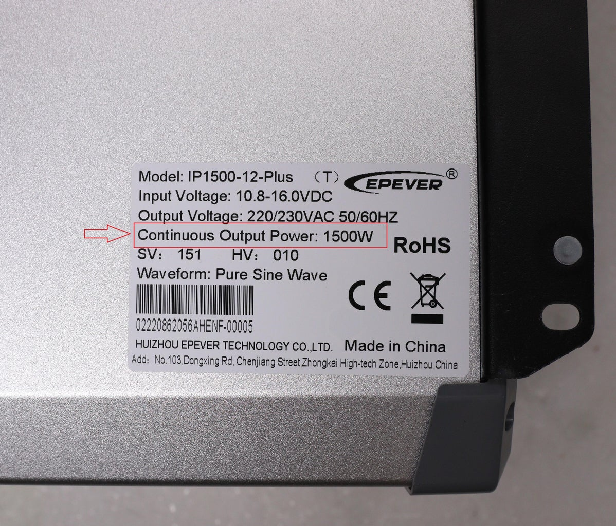 How Inverter Are Rated?
