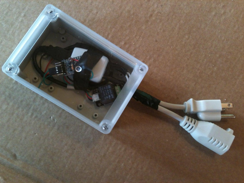 Laser Pointer Switch