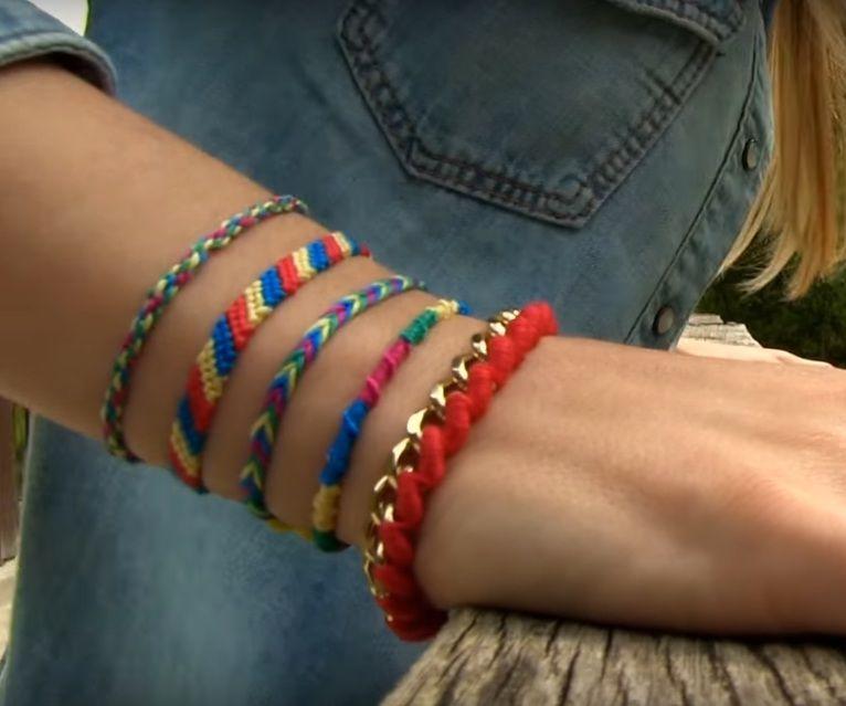 Easy Way to Make a Friendship Bracelet