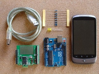 How to Switch an Arduino Output on and Off From Your Android Mobile.  Arduino for Beginners