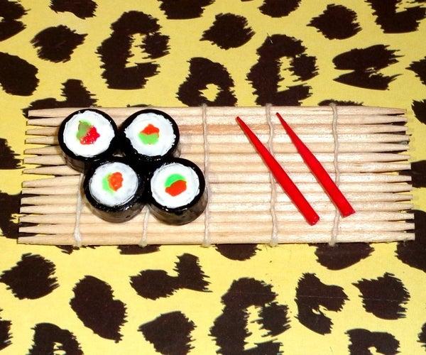 Diy Miniature Sushi