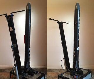 Overkill Model Rocket Launch Pad!