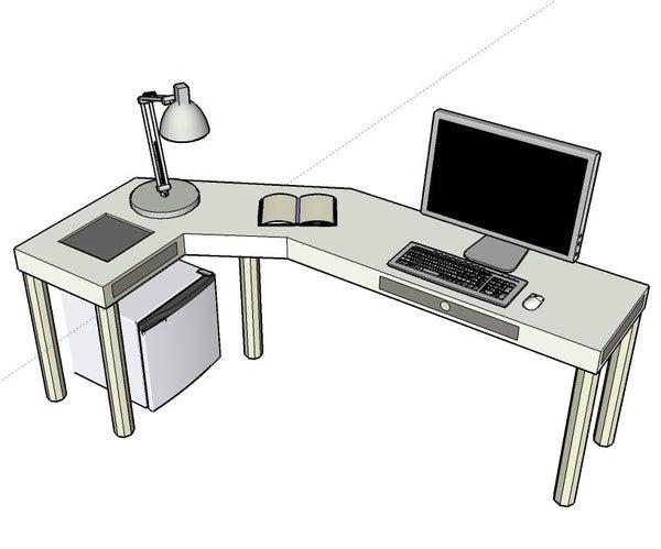 Simple Working/gaming Desk