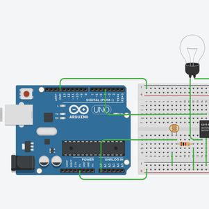 Arduino to Breadboard Connections