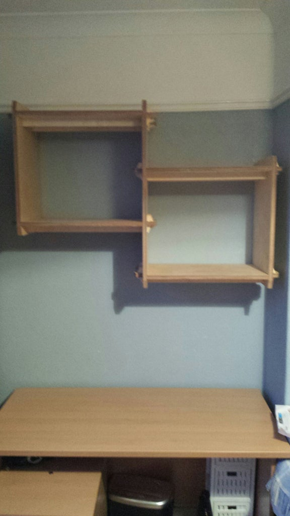 The Most Over Engineered Shelves Ever