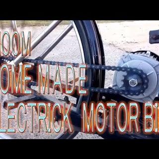 DIY Dhoom Homemade Electric Motorbike-2016