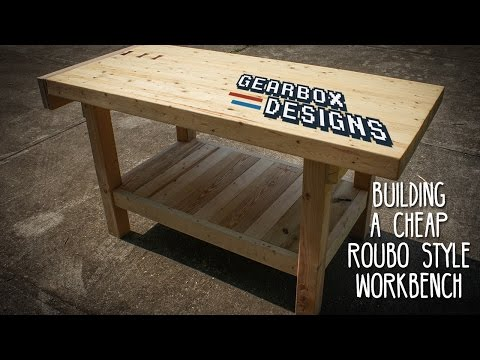 Cheap and Rad Roubo Style Workbench