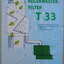 Fitting a T33 rainwater diverter and filter for water butts