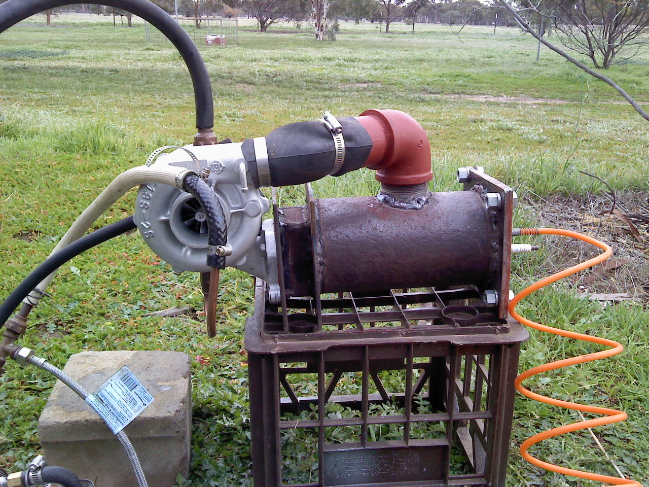 Home made turbo Jet
