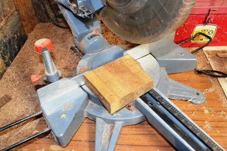 Making the Wooden Stand