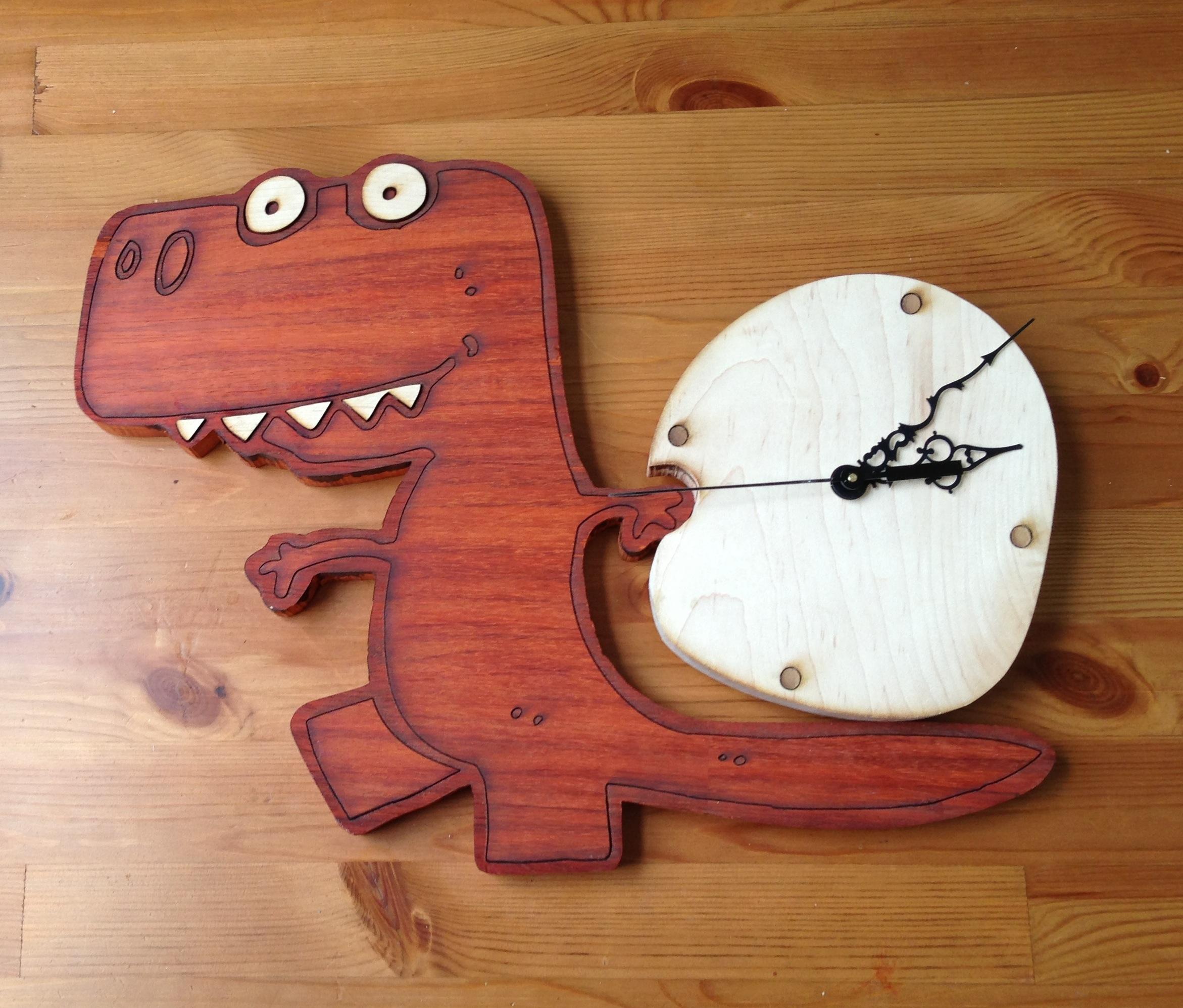 Dino Clock!