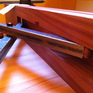 Parallel Leg Vise With St. Andrew's Cross