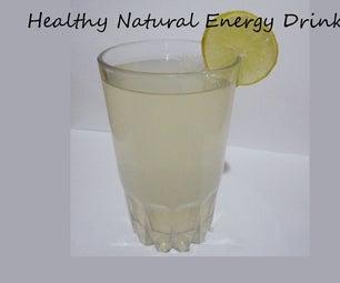 如何制作天然能量饮料