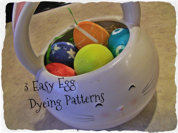 3 Easy Egg Dyeing Patterns