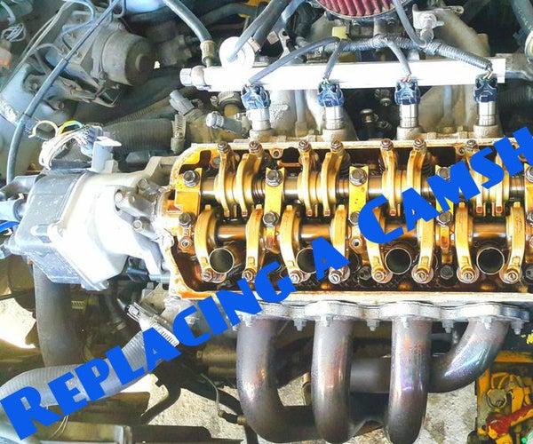 Replacing a Camshaft Seal (Honda Civic 1999, D15B).