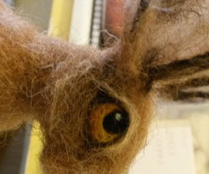 Felted Hare Eyes