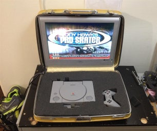 Make a Portable Game Station for Grandma's House!
