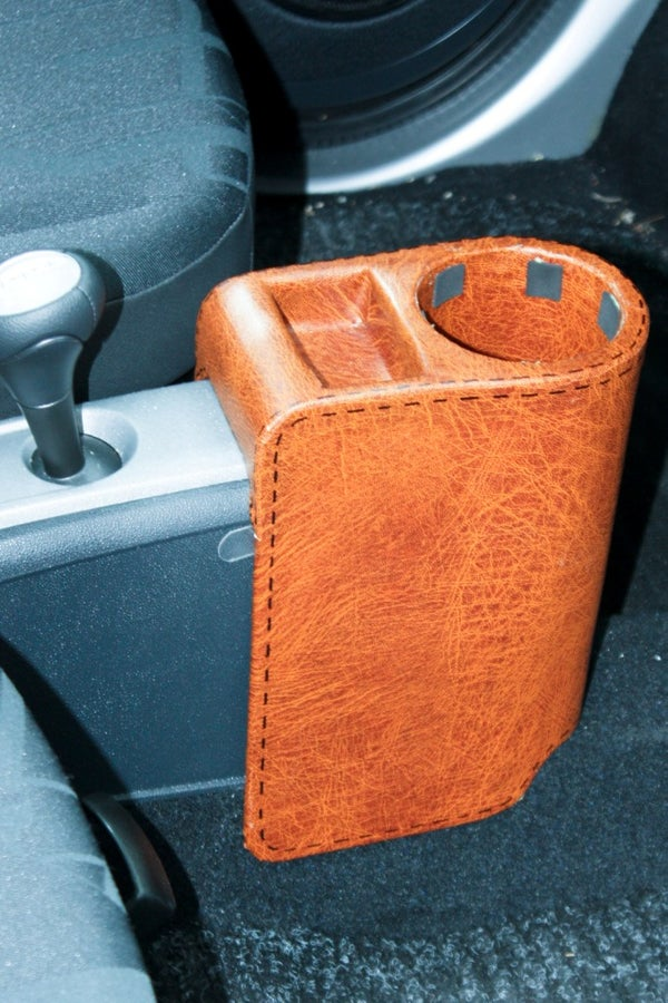 How to Make a Cup-holder for a Smart Car