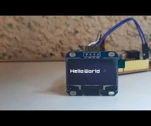 Arduino How to Use 1.3 Inch OLED Display SH1106