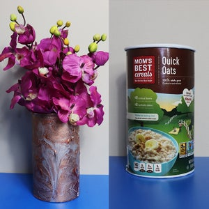 Recycled Craft Idea | Cardboard Vase