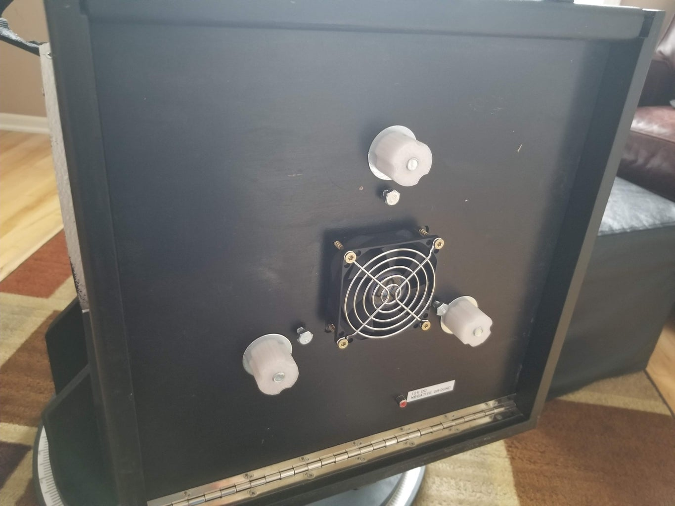 Adding a Cooling Fan to Dobsonian Telescope