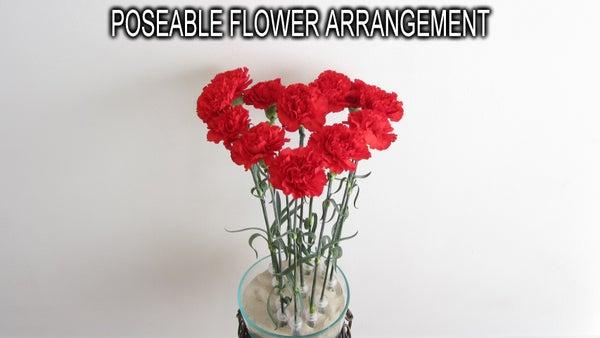 Poseable Flower Arrangement