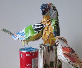 Cardboard Box Birds