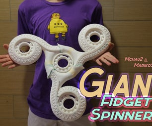 Giant Fidget Spinner! (3D Printed)