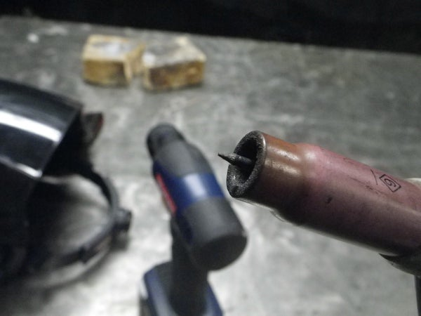 Perfectly Sharpen Tungsten for TIG Welding!
