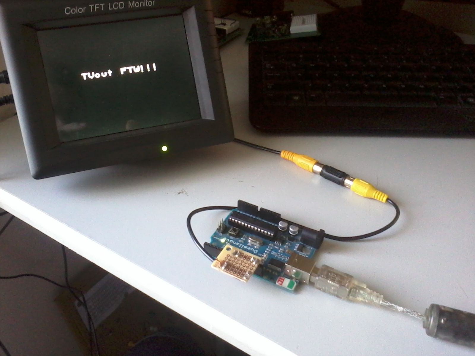TV Out with Arduino