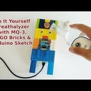 Do It Yourself Breathalyzer With MQ-3 & LEGO Parts