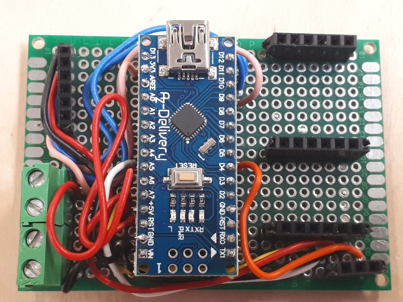 Assembly of Electrical Componnement on a PCB