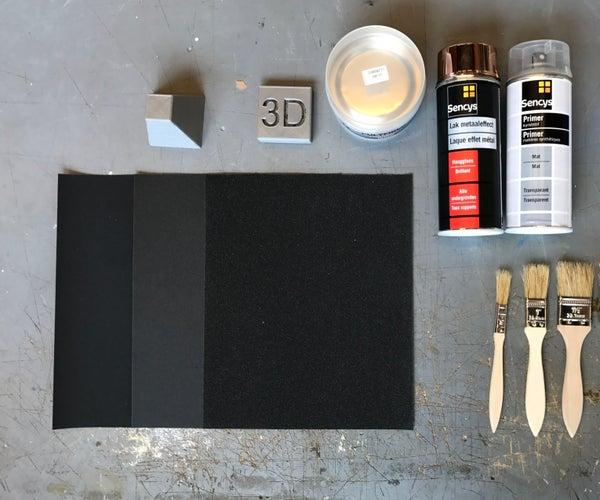 3D Surface Finishing Techniques - WerkplaatsIDC