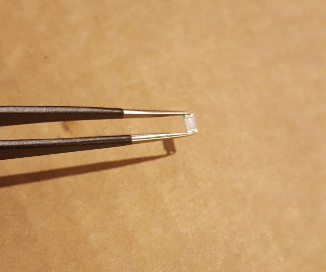Paper LED Tabs