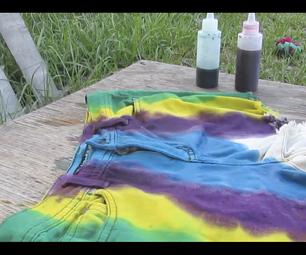 Tye Dye Jean Shorts!